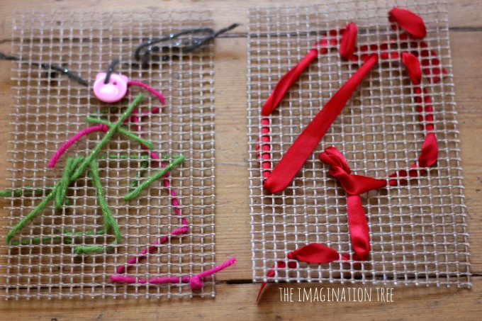 Easy sewing mats for kids