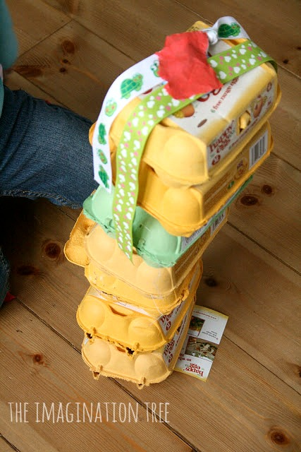 Egg cartons discovery box