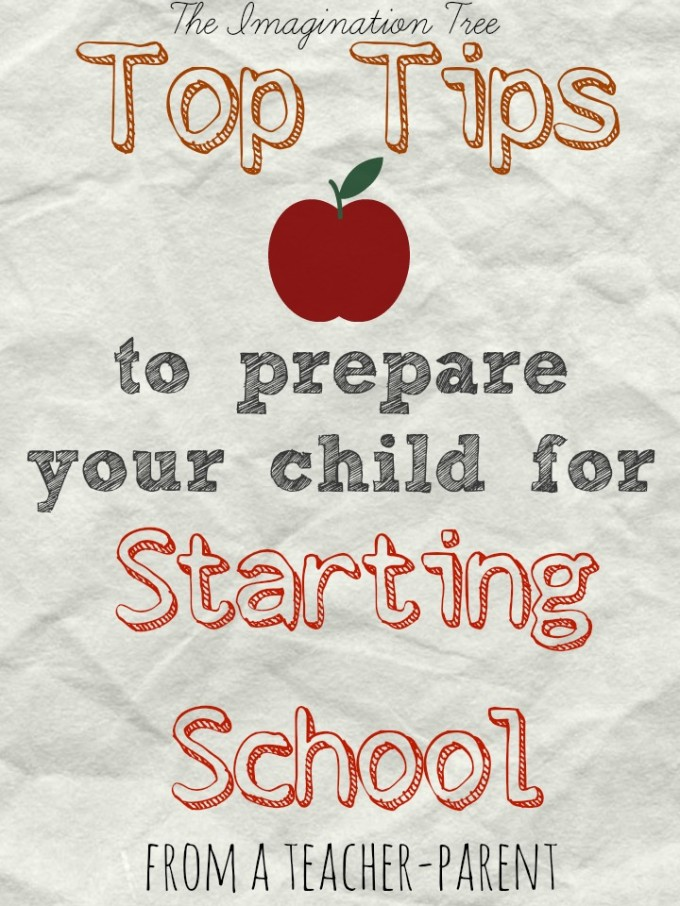 Top Tips for Preparing your Child for Starting School