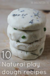 10 Natural Play Dough Recipes