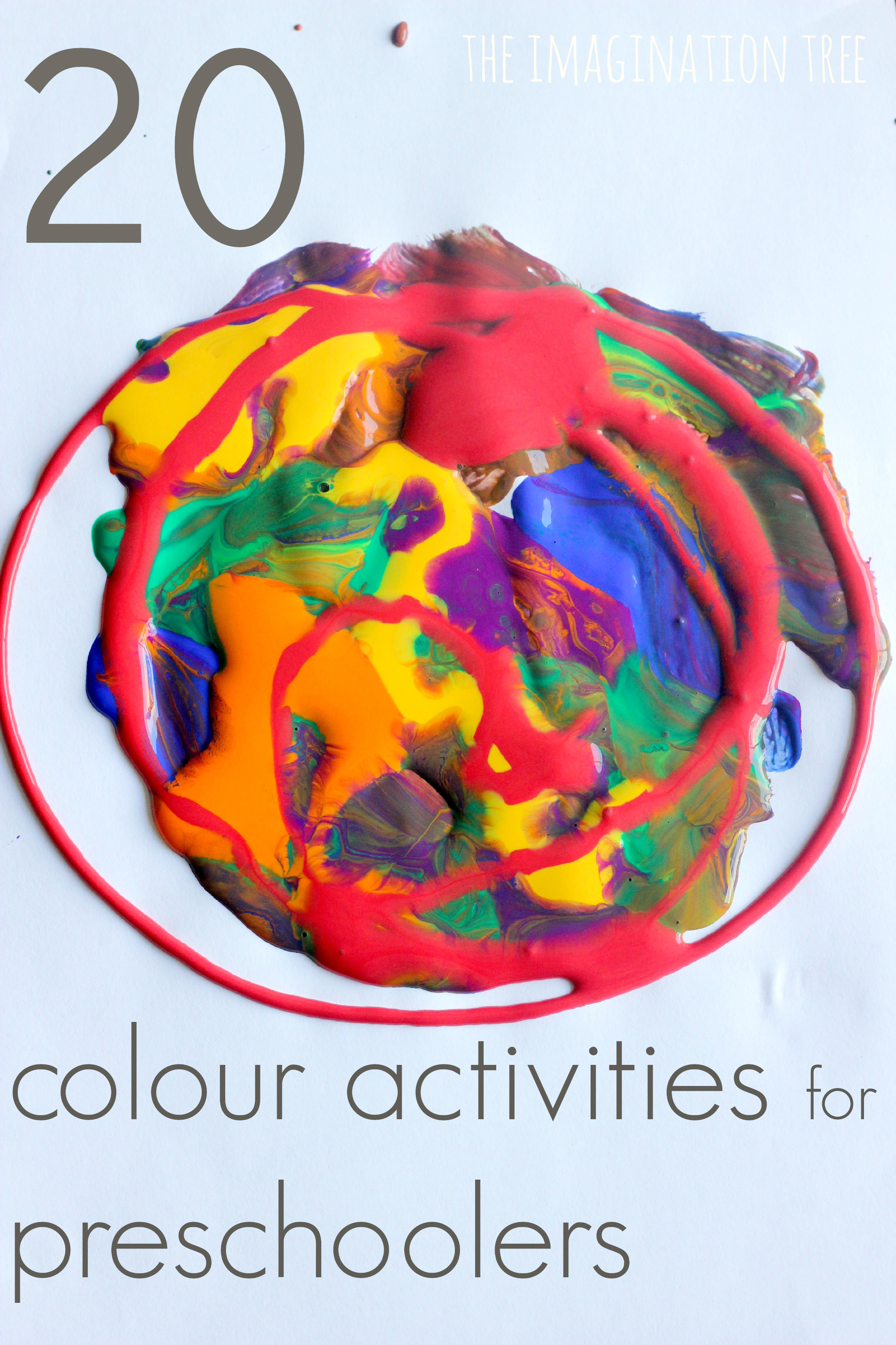 20 colour activities for preschoolers - Preschool Painting Games