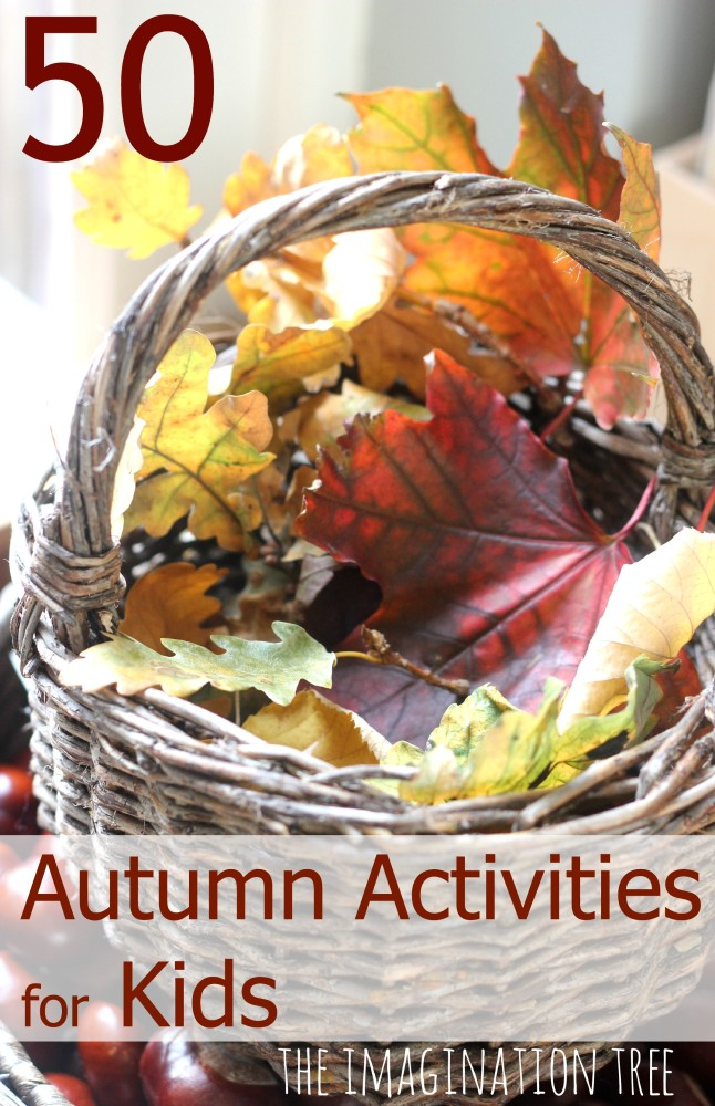 Autumn activities for homeschool learning and fun