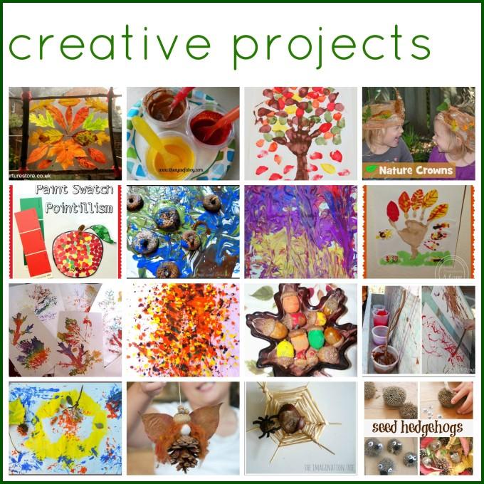 Autumn creative art projects