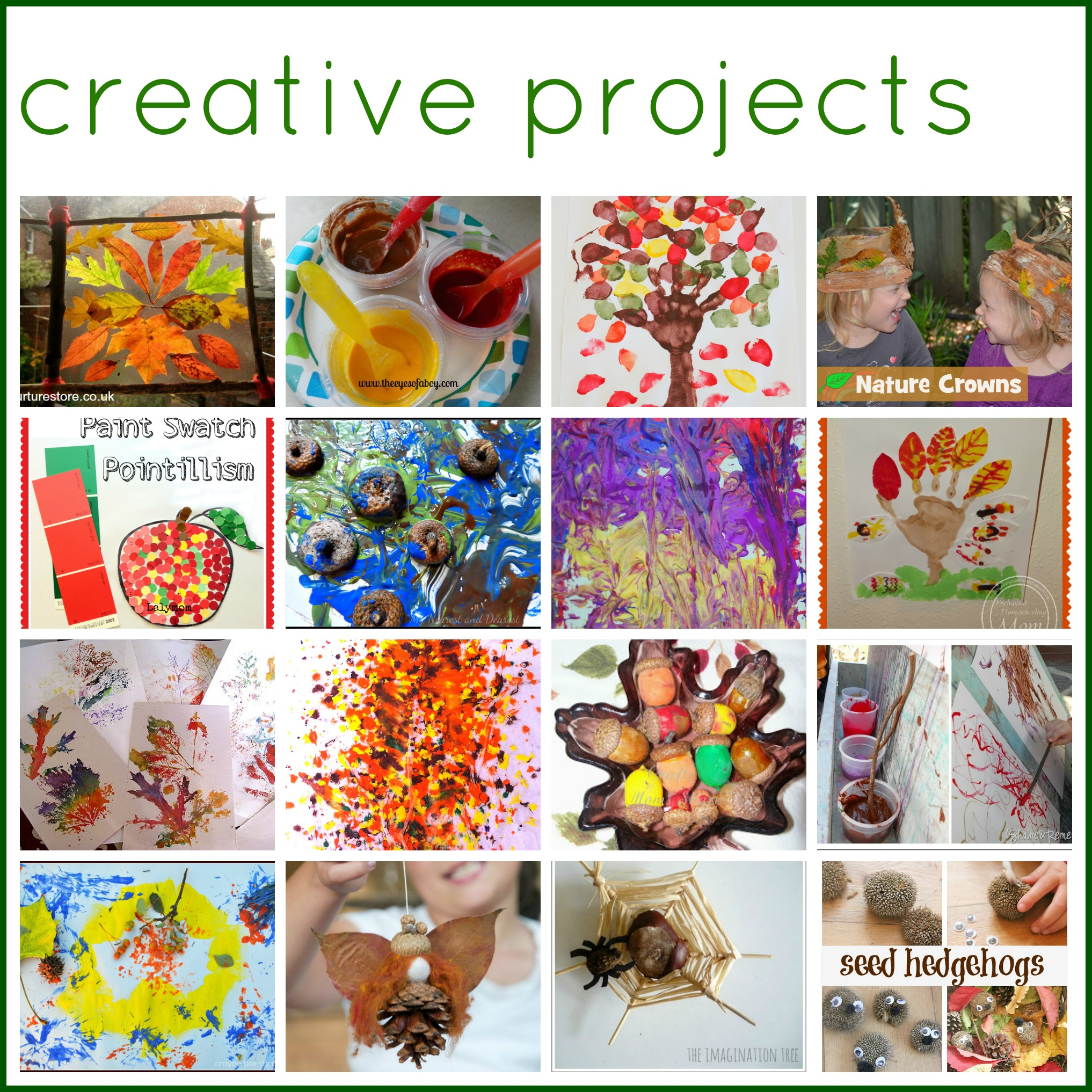 Autumn Creative Art Projects