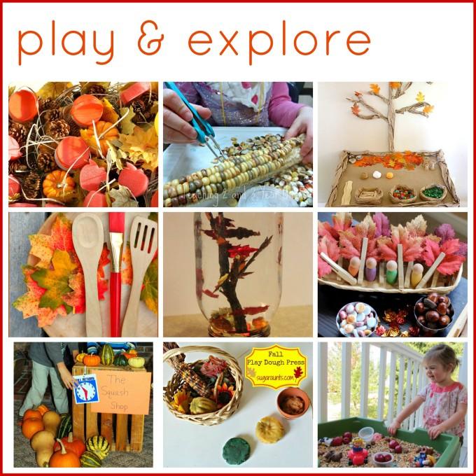Autumn play activities