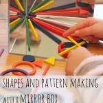Exploring Shapes and Patterns on a Mirror Box
