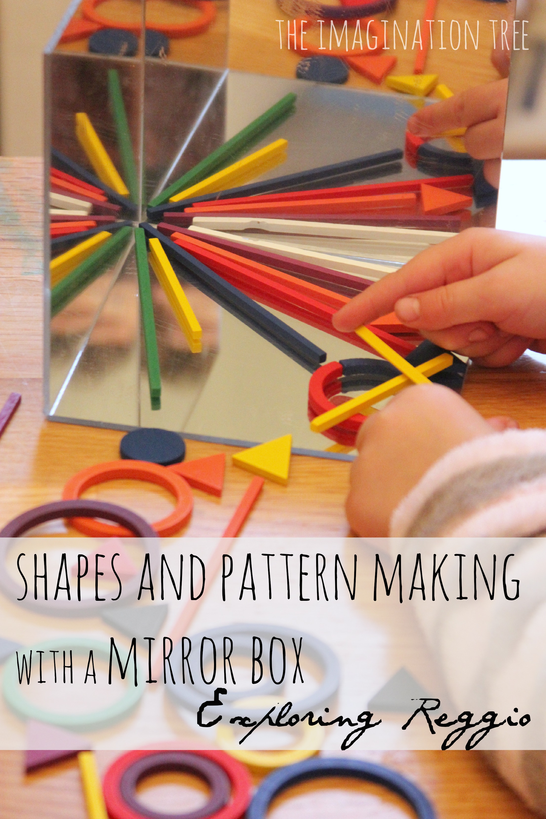 Exploring Shapes And Patterns On A Mirror Box The
