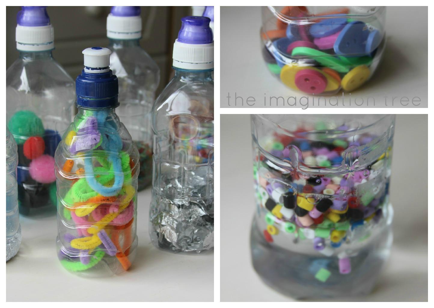 Развивалки своими руками из бутылок
