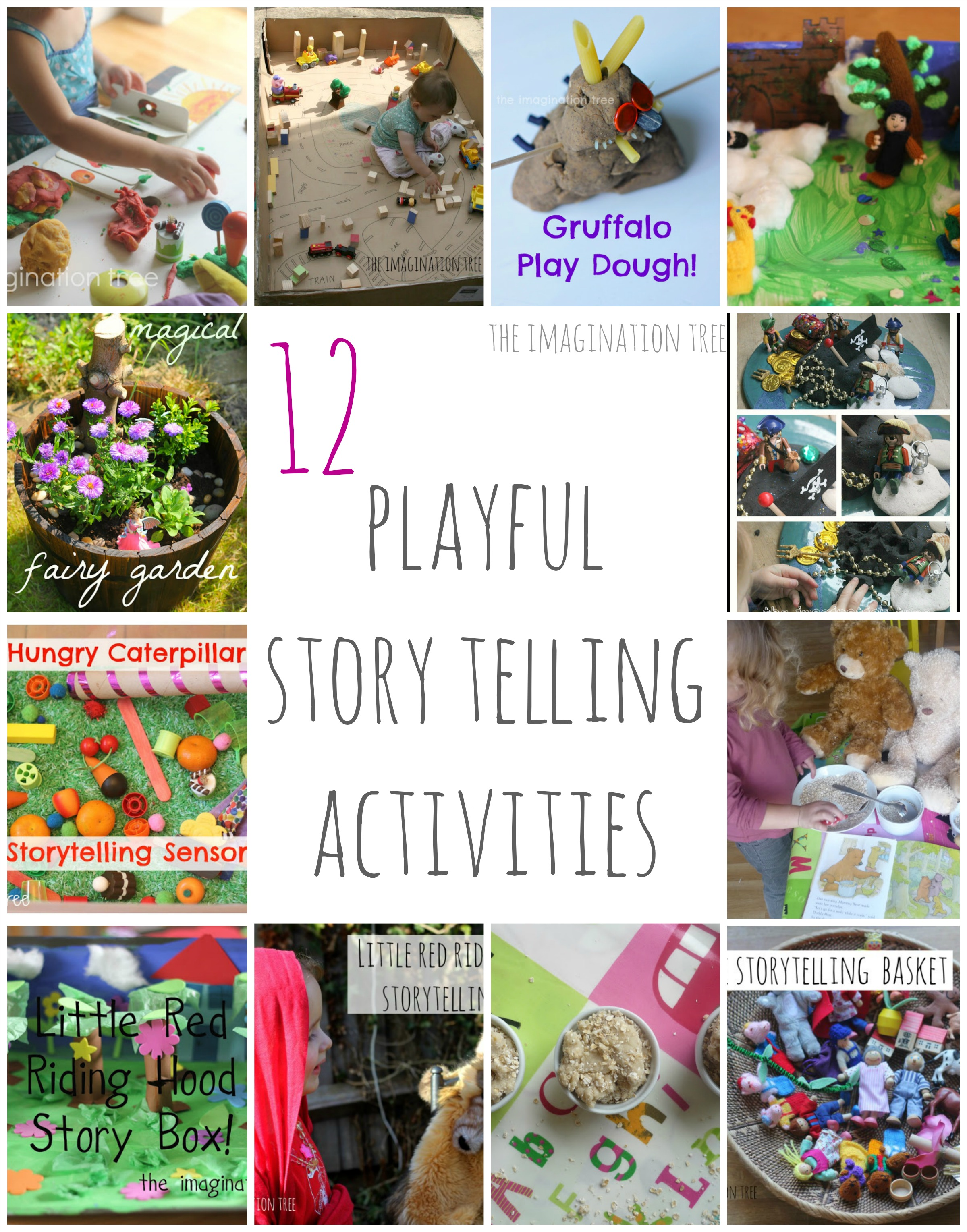 12 Creative Storytelling Activities - The Imagination Tree
