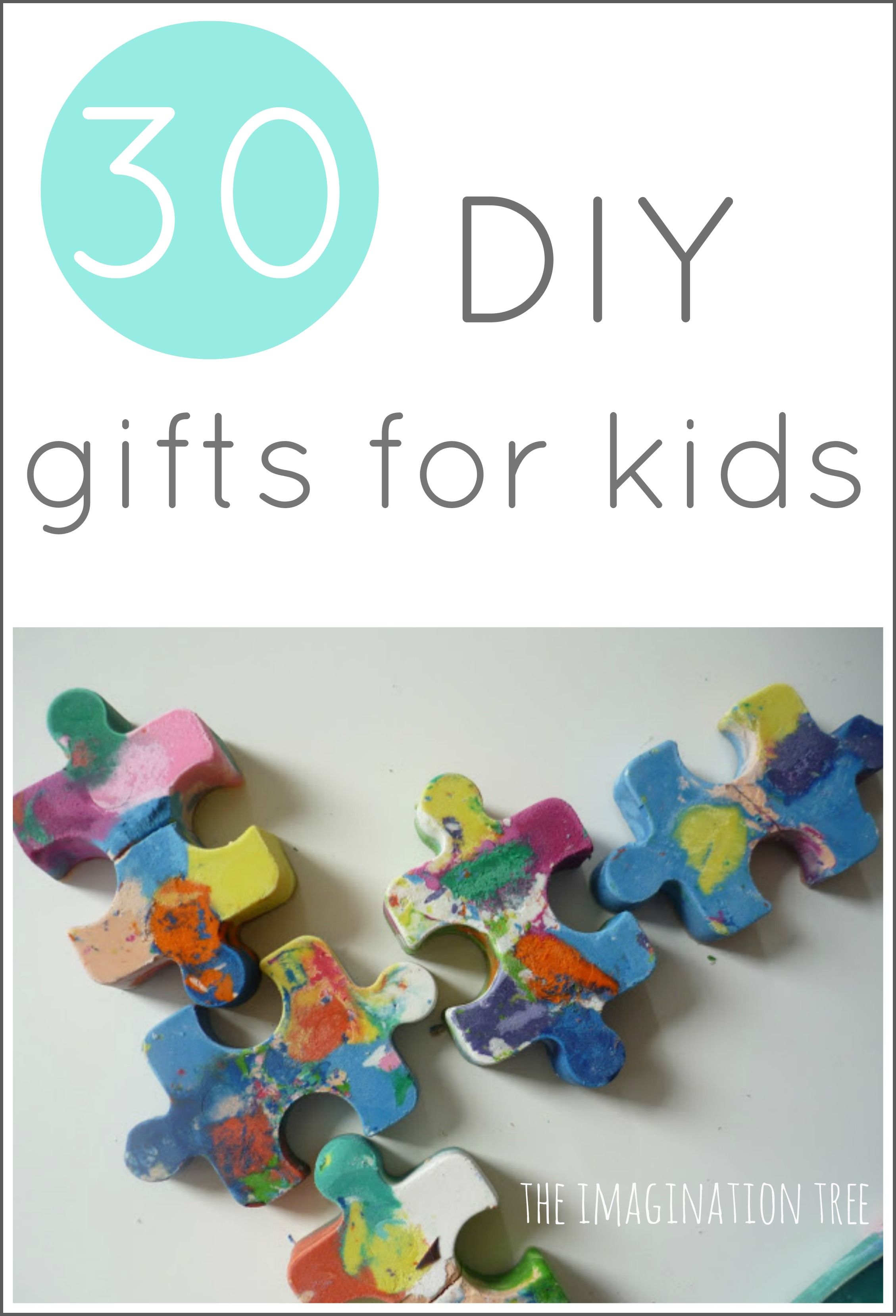 30 diy gifts to make for kids the imagination tree for Easy diy gifts for boys