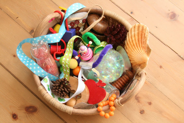 Baby treasure basket