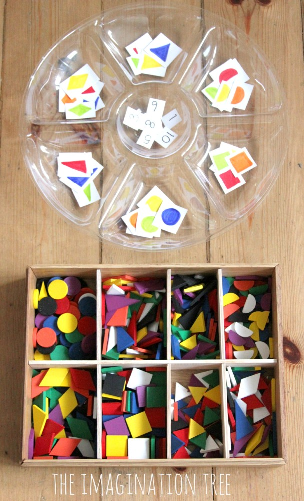 Counting and Addition shapes game