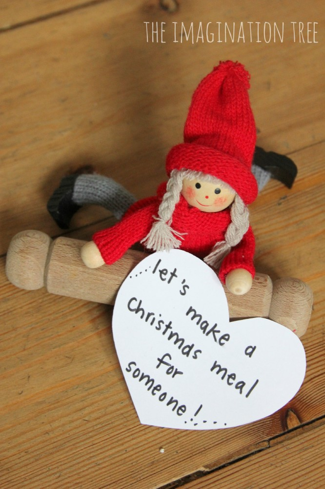 Helpful Elf teaching Kindness Tradition