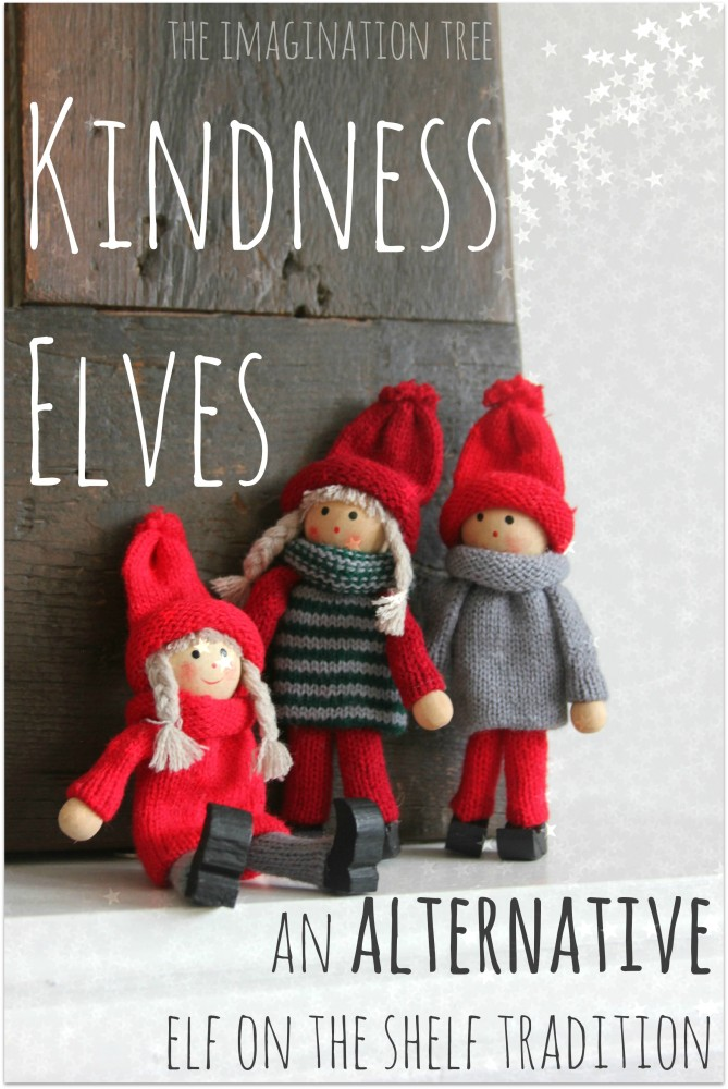 Kindness Elves: An Alternative Elf on the Shelf Tradition