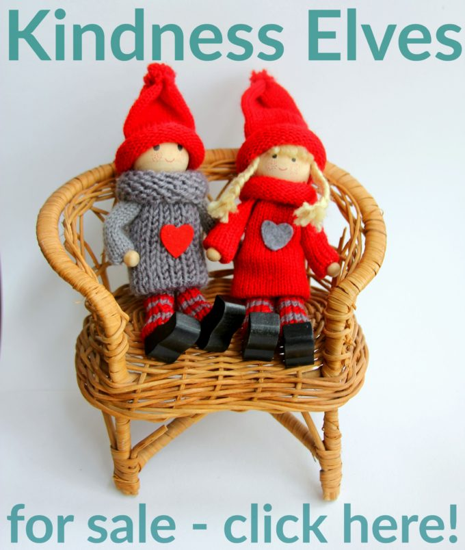 Where to buy the Kindness Elves for a new family tradition this christmas