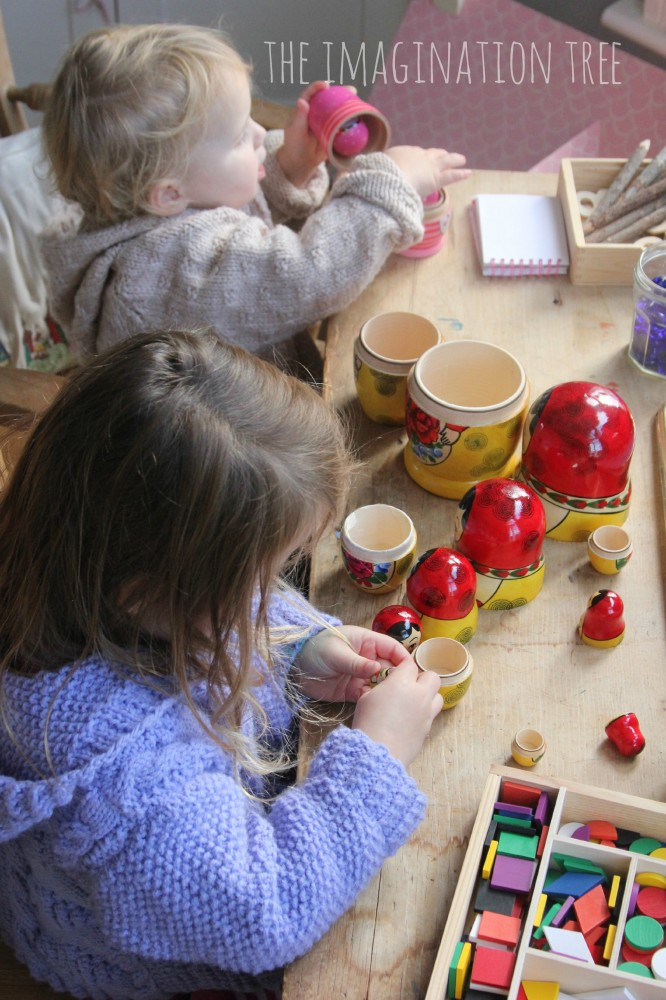 Ordering with Russian dolls