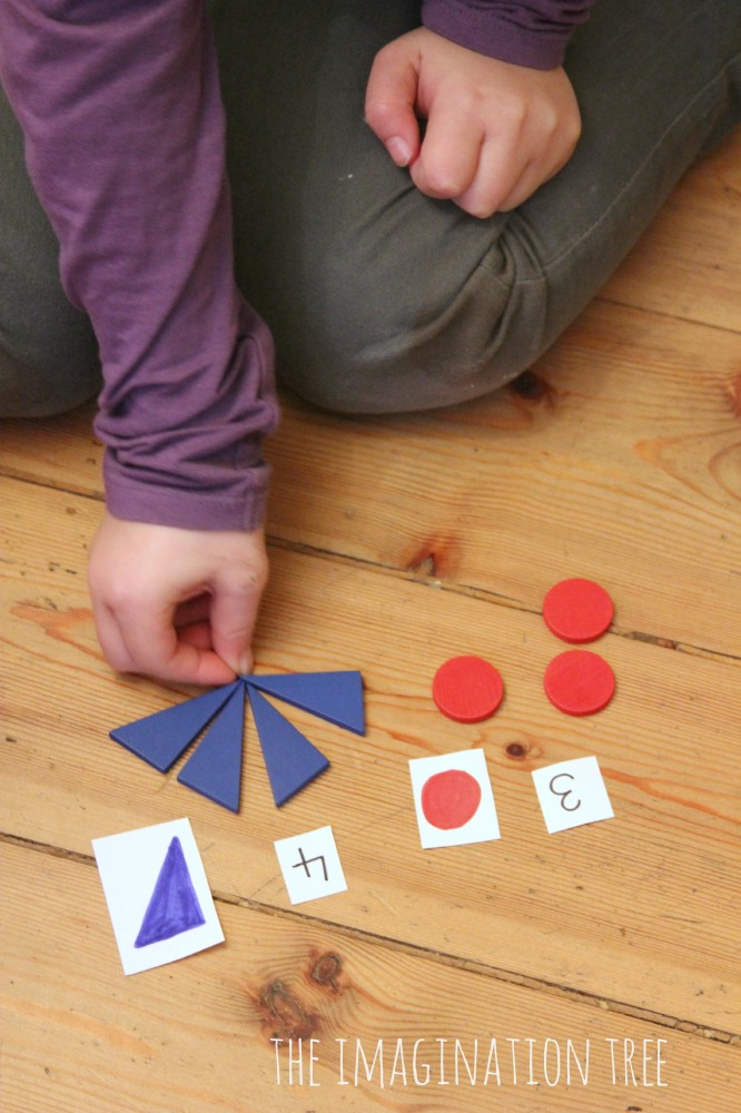 Shape addition activity