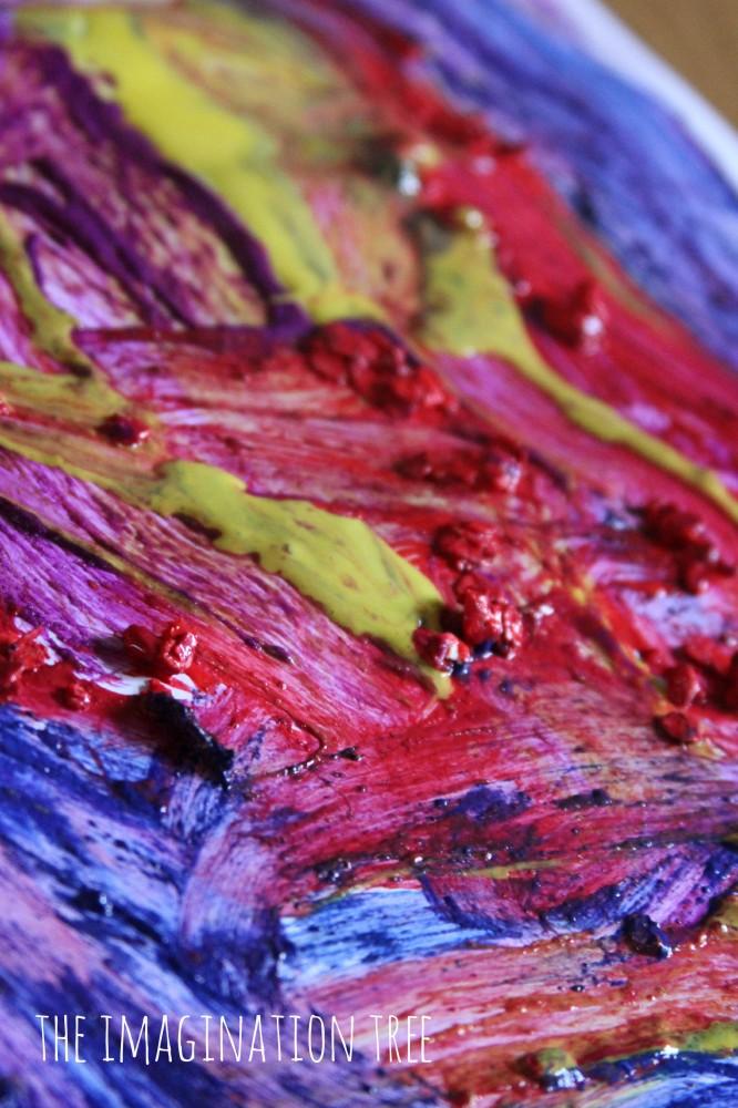 Textured paints recipes