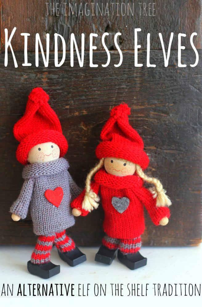 Kindness Elves: An Alternative Elf on the Shelf Tradition ...
