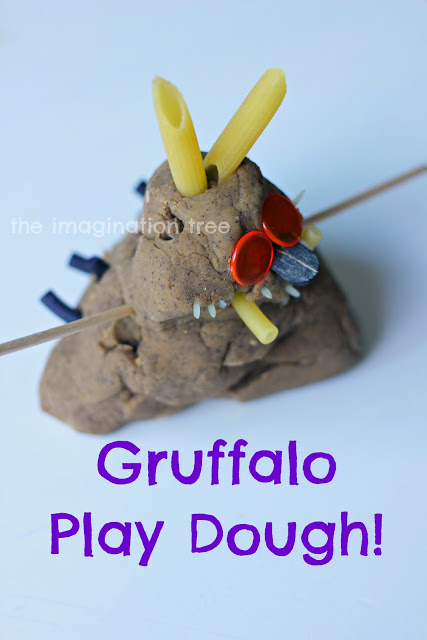 gruffalo+play+dough
