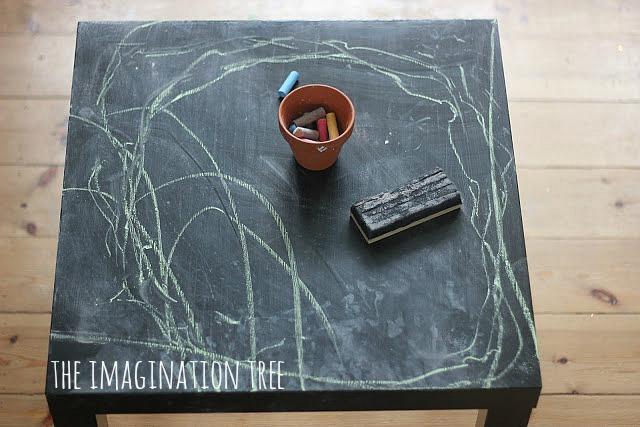 indoor+chalkboard+table