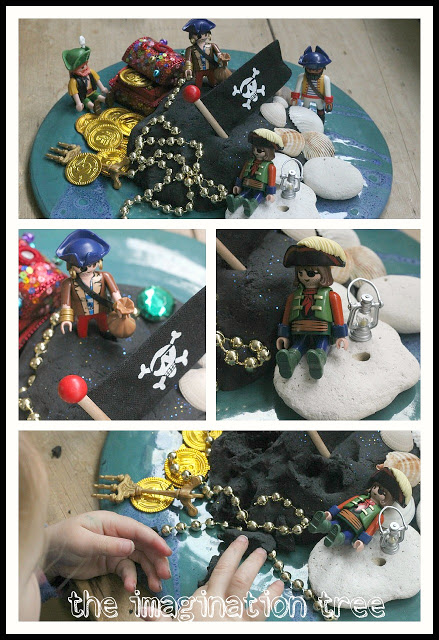 pirate+play+dough+storytelling