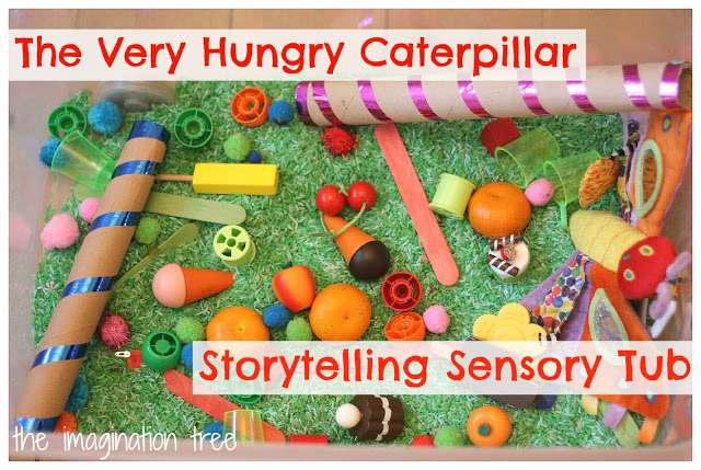 the+very+hungry+caterpillar+sensory+tub