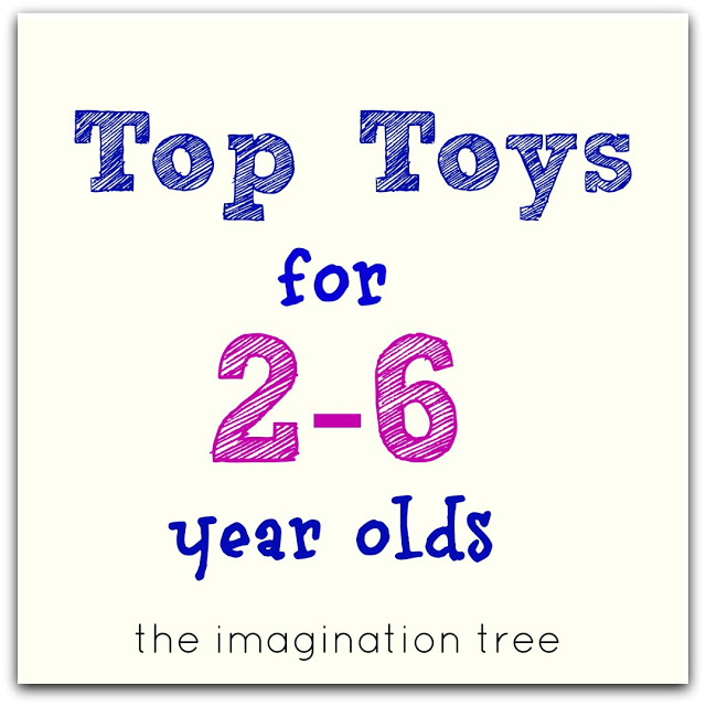 Top Toys For 2 6 Year Olds