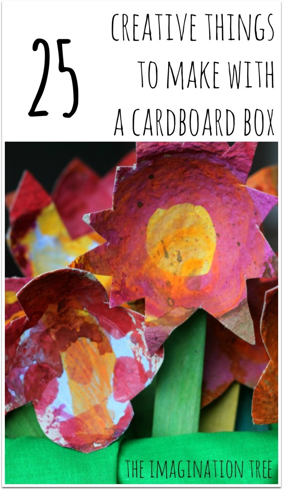25 creative things to make with a cardboard box!