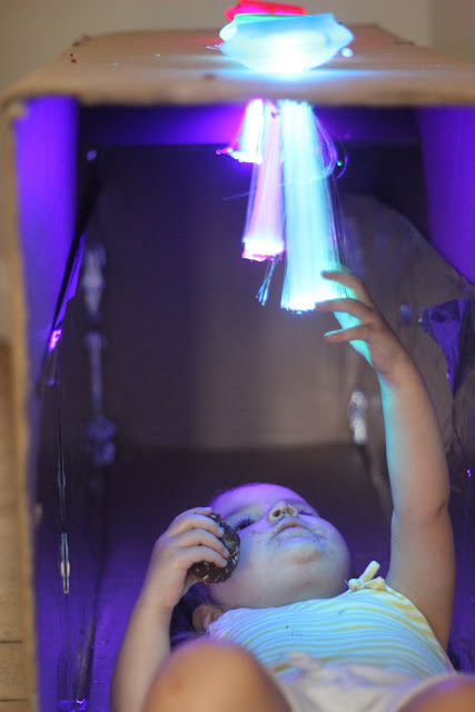 Fibre optic sensory cave