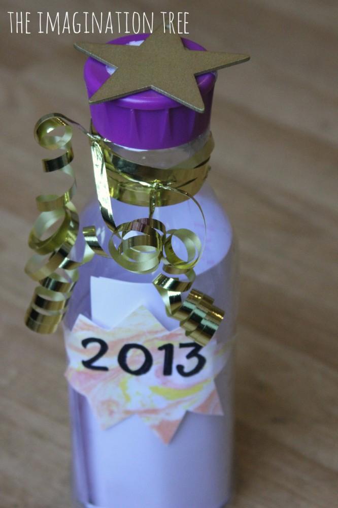 New Years Time Capsule Memory Keepsake