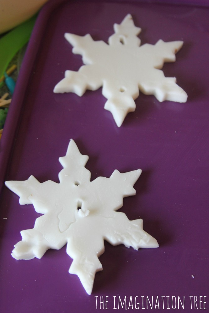 White clay ornament recipe