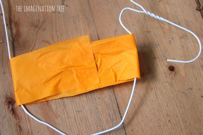 Coat hanger heart sculpture