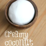 Creamy Coconut Play Dough Recipe