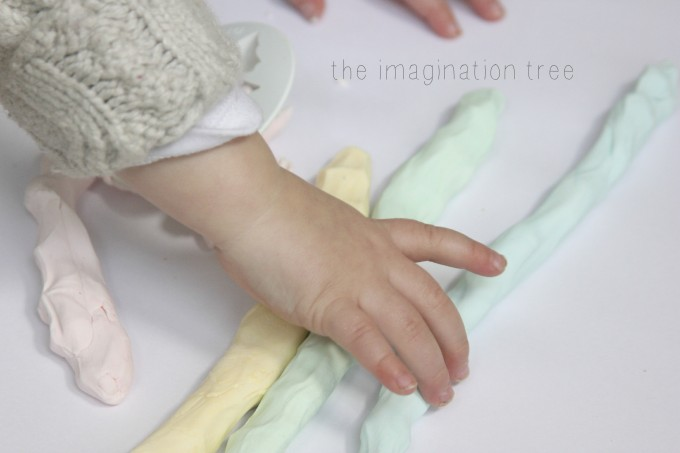 Super soft eczema friendly play dough