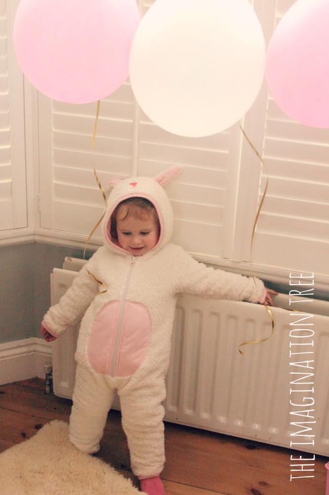 Bunny birthday girl