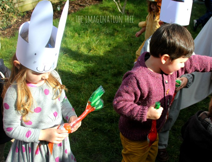 Bunny birthday party games