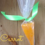 Carrot play dough alternative easter gifts for kids