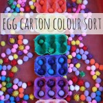 Egg Carton Colour Sorting