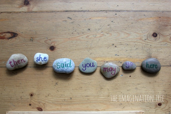 Sight word pebbles sentences