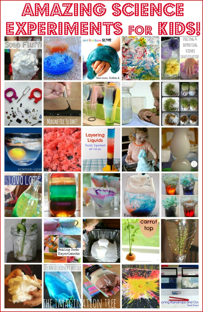 30 Amazing Science Experiments for Kids!