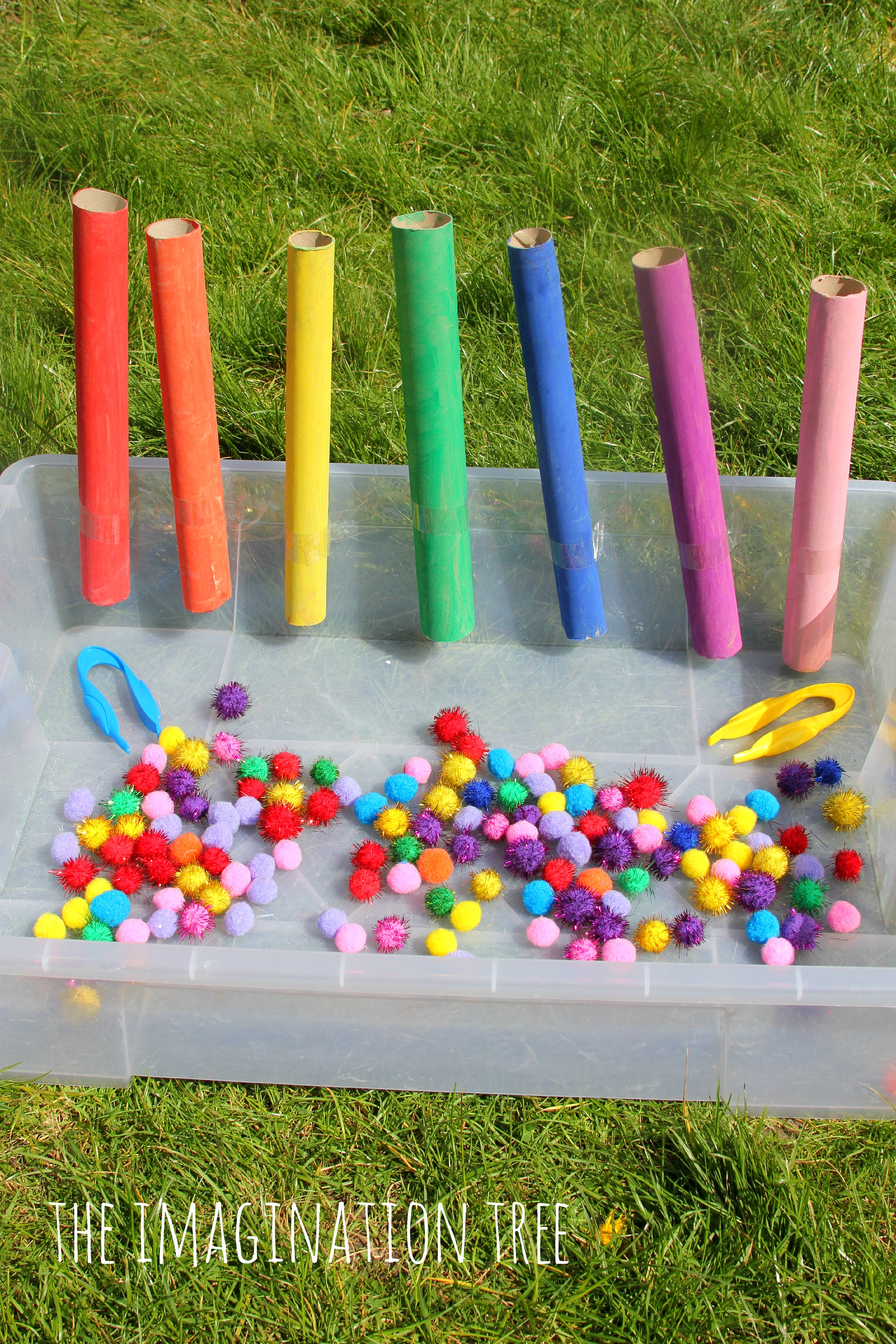 Colour Sorting Pom Drop Game