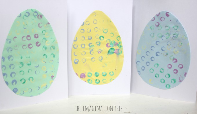 Lego print Easter eggs