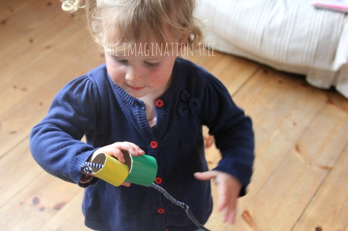 Toddler threading activity