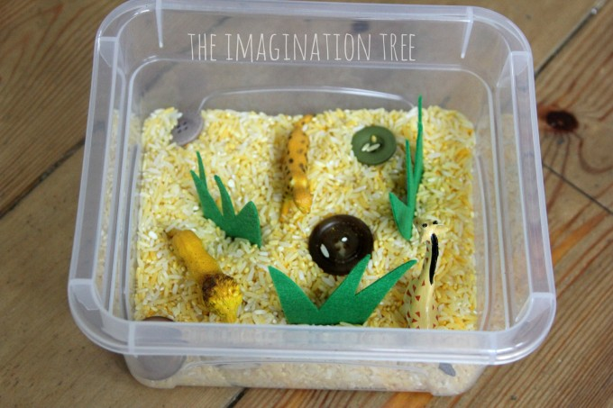 Animal Habitat Mini Sensory Tubs The Imagination Tree