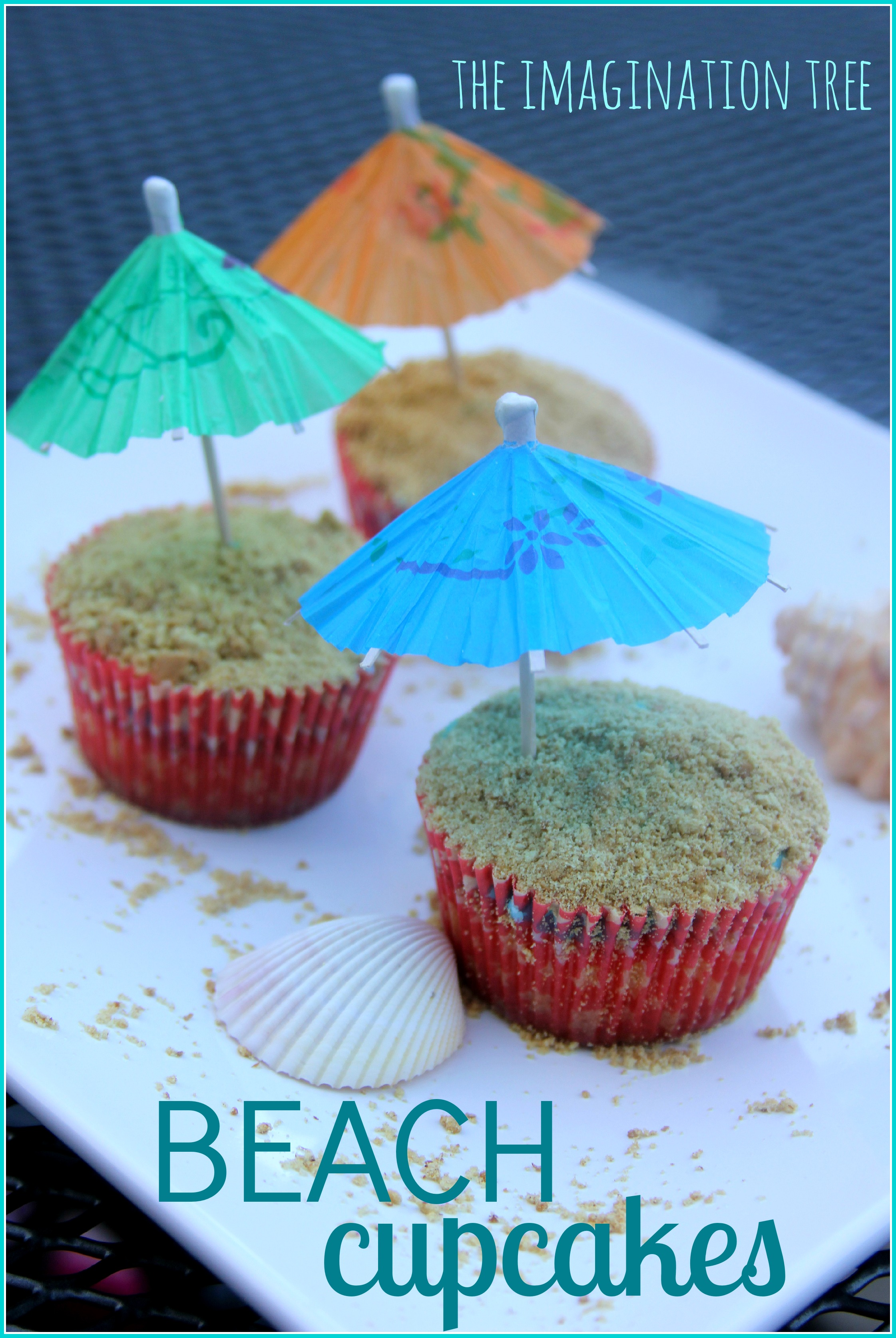 beach cupcake recipe the imagination tree beach themed cupcake recipe for summer fun