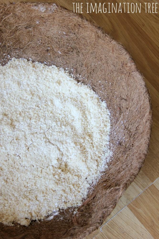 Coconut cloud dough recipe