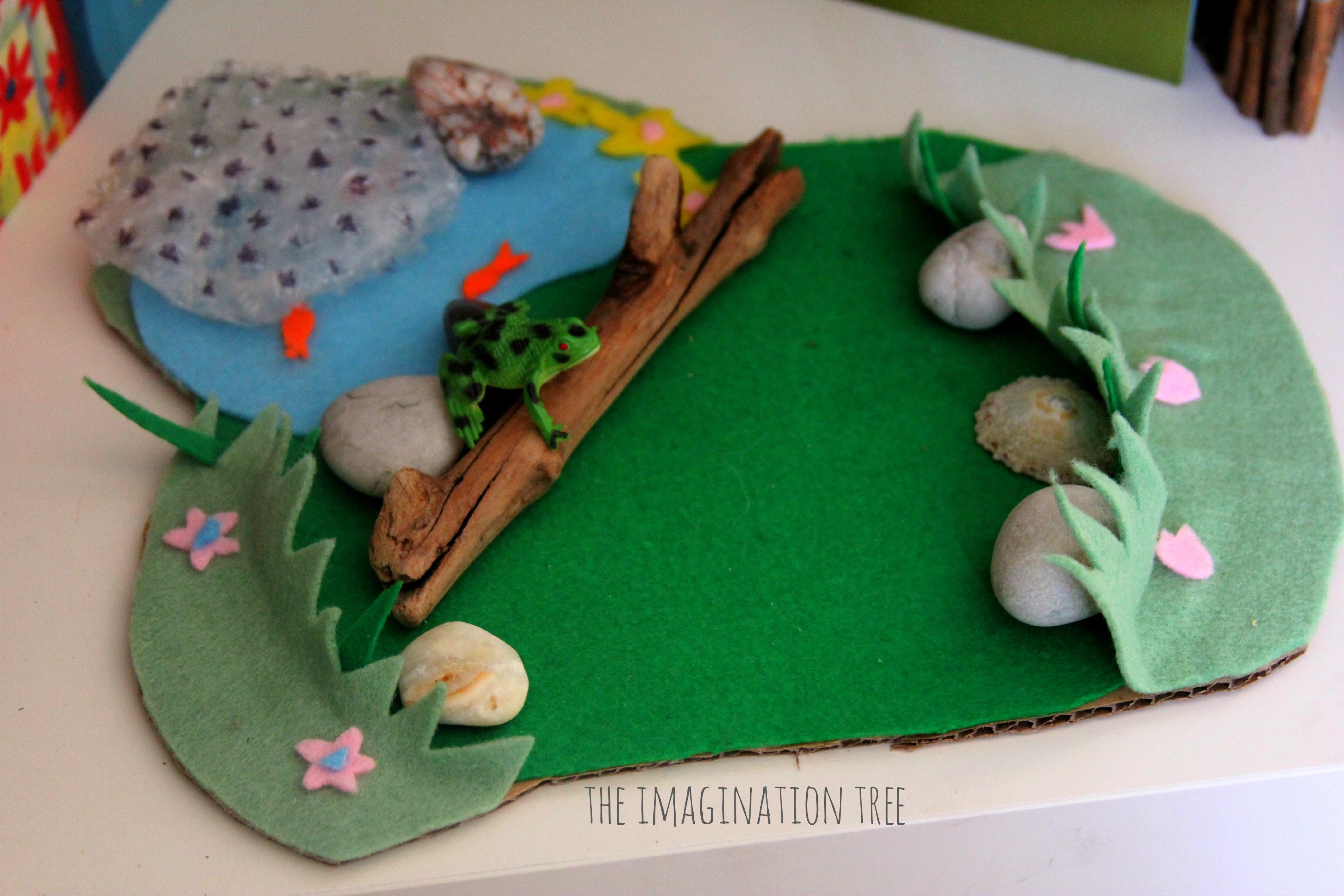 Tadpole And Frog Investigation Area The Imagination Tree