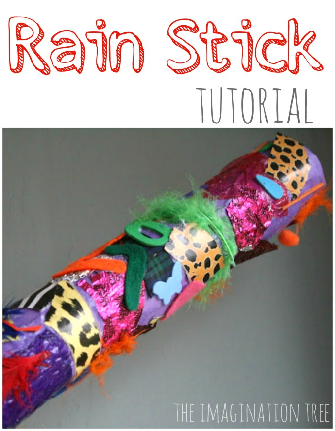 DIY rainstick tutorial
