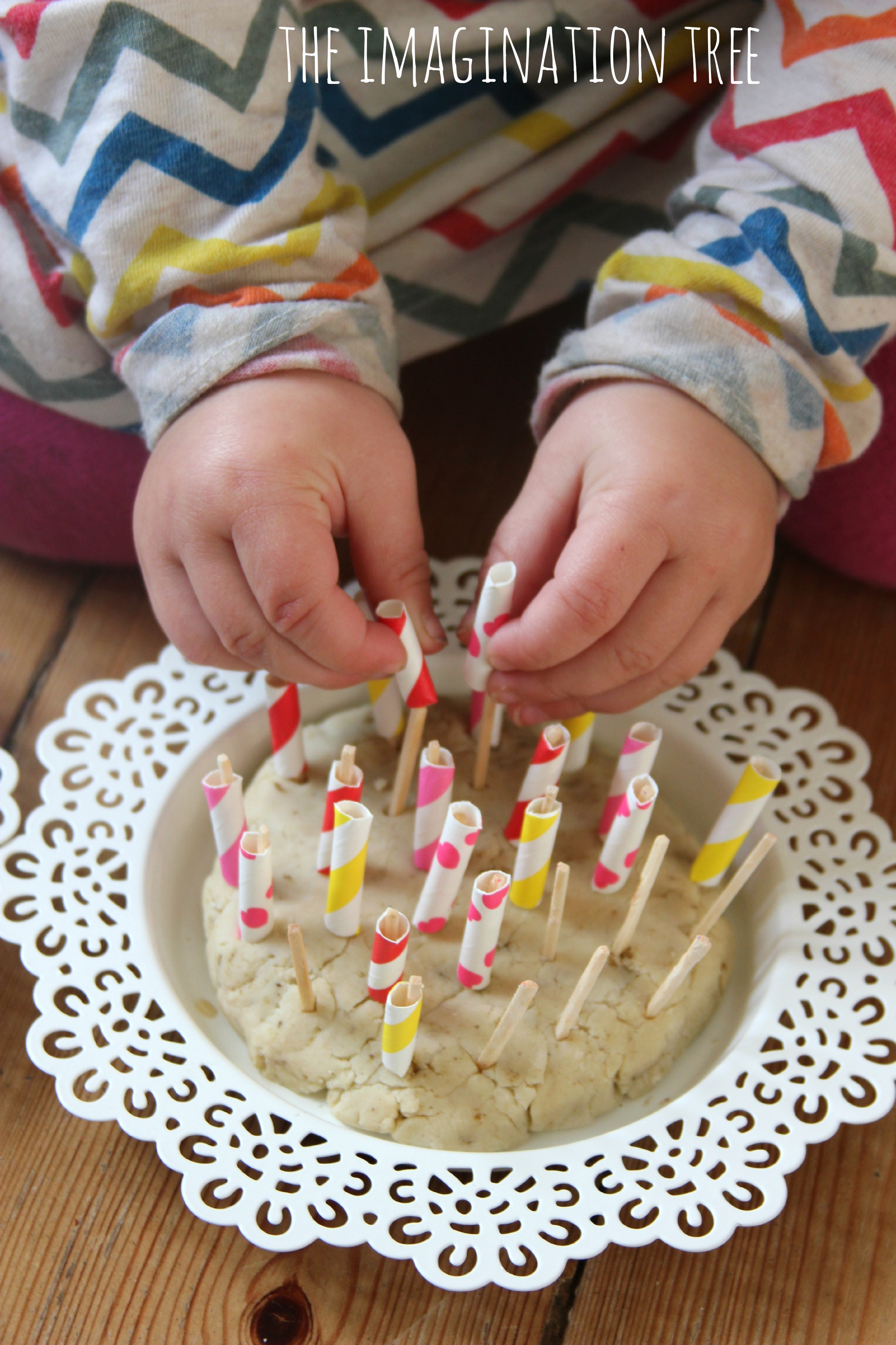 Straws and matchsticks fine motor activity the for Fine motor activities preschool